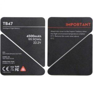 DJI Изолирующая наклейка батареи TB47 DJI Inspire 1