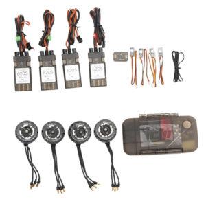 DJI E800 (4*Motor/ESC; 4 pair props; Accessories pack; Updater for ESC)